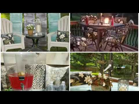 DECKED & STYLED PATIO PARTY COLLABORATION/ OUTDOOR ENTERTAINING IDEAS