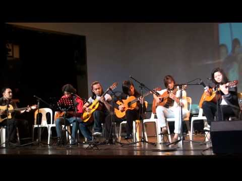 Yamaha Music School Philippines Guitar Concert..Start/Canon in D Depapepe