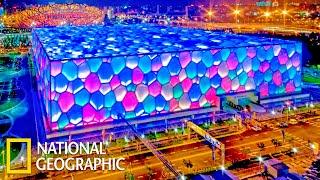Водный куб Пекина - Мега Сооружения