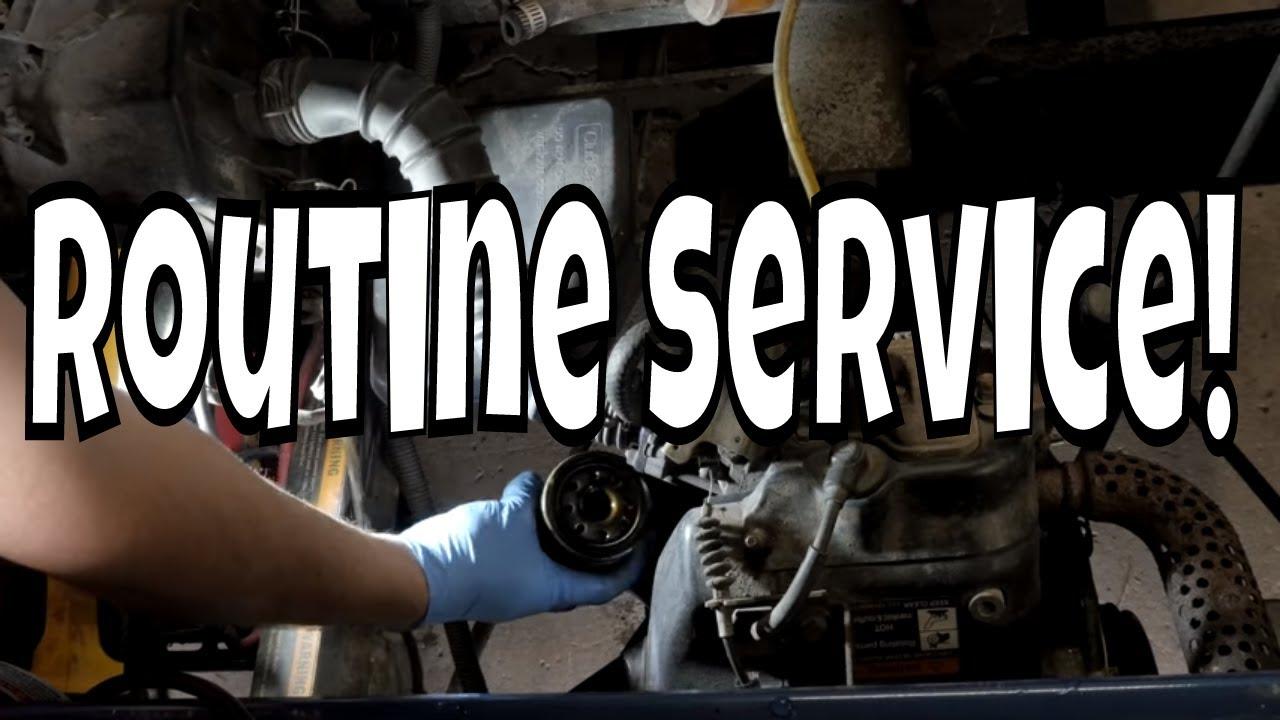 2000 club car ds, gas - service, clean carb, adjust valves  kevin's golf  carts