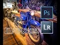 Awsome retouch of a vintage Ace 1923 Motorcycle - Lightroom & Photoshop Tutorial