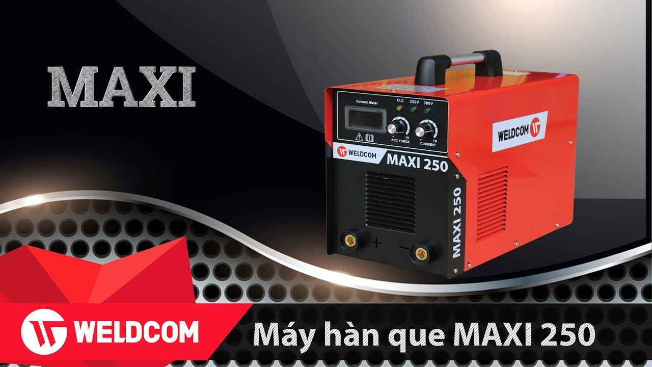 Máy hàn điện tử WELDCOM MAXI 250