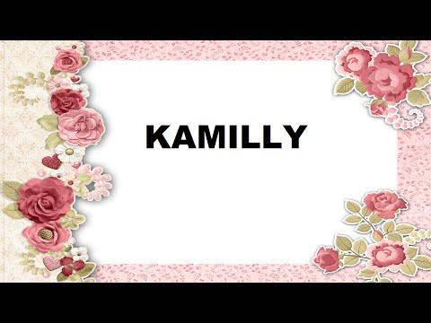 Kamilly Significado e Origem do Nome