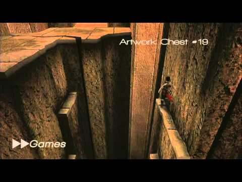 Prince of Persia: Warrior Within [All Artwork Chest Locations]