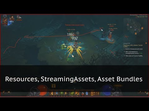 Управление ресурсами в Unity: Streaming Assets, Resources, Asset Bundles