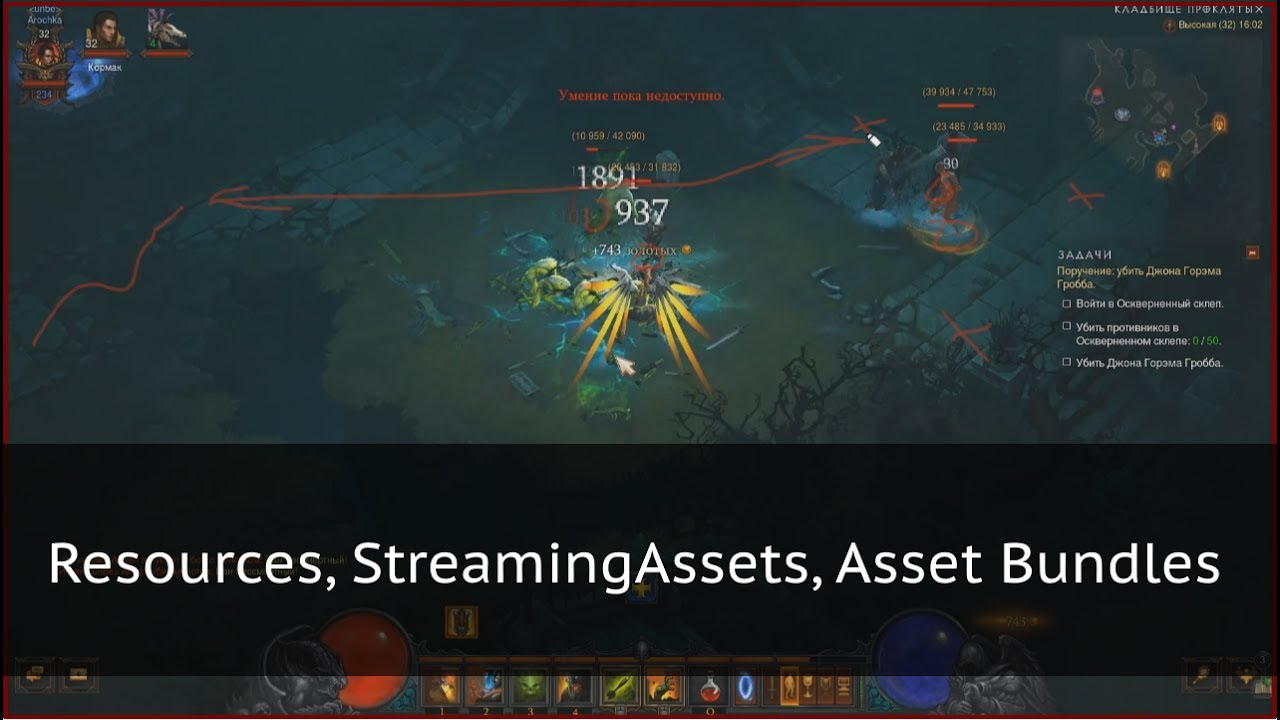Управление ресурсами в Unity: Streaming Assets, Resources, Asset Bundles