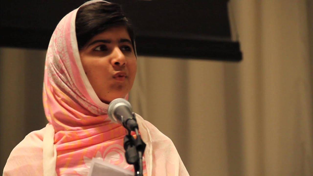 Malala yousafzai un speech