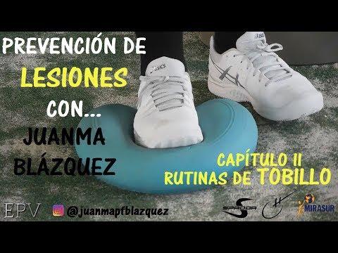 Pádel: Prevención de Lesiones con... Juanma Blázquez (Tobillos)