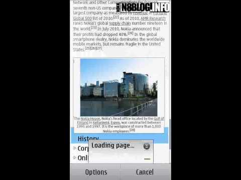 Nokia N8 Free Apps: Wikipedia Reader - NokiaN8Blog.info