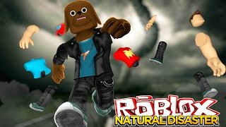 ROBLOX Facecam - NATURAL DISASTER - Little Baby Max Games & Gaming