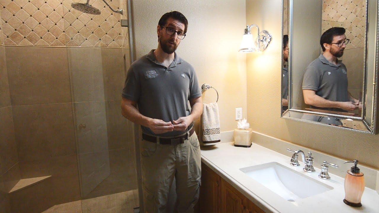 Traditional Guest Bathroom Remodel in La Verne, Ca ...