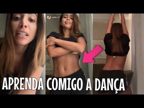 """Anitta ensina a coreografia da sua NOVA MÚSICA com KEVINHO """"Terremoto"""" VEJA"""