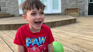 Surprise Toys in our Backyard!