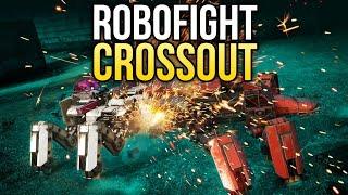 Crossout Robofight: СЕРЕБРЯНЫЙ ВСПОЛОХ vs КРОВАВО-АЛАЯ МЕДВЕДКА
