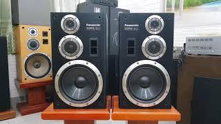Loa dàn đại Panasonic SB D7 -  bass 25 ba đường tiếng, đánh rất lực, giá tốt