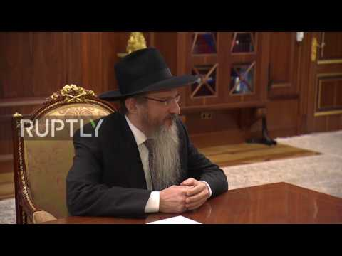 Russia: Putin sends his congratulations to Russian Jews on Hanukkah