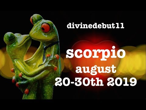 "SCORPIO 🐸 ""BIG DECISION TIME SCORPIO!"" AUGUST 20~30TH 2019 LOVE & GENERAL READING thumbnail"