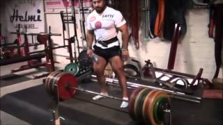 Zahir Khudayarov - The Dragon (Powerlifting Motivation)
