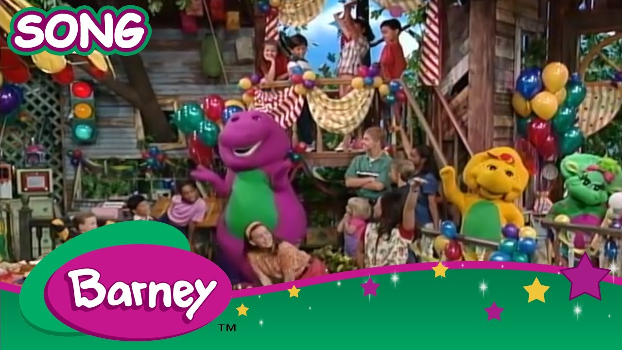 Barney Everyone Is Special Song Youtube