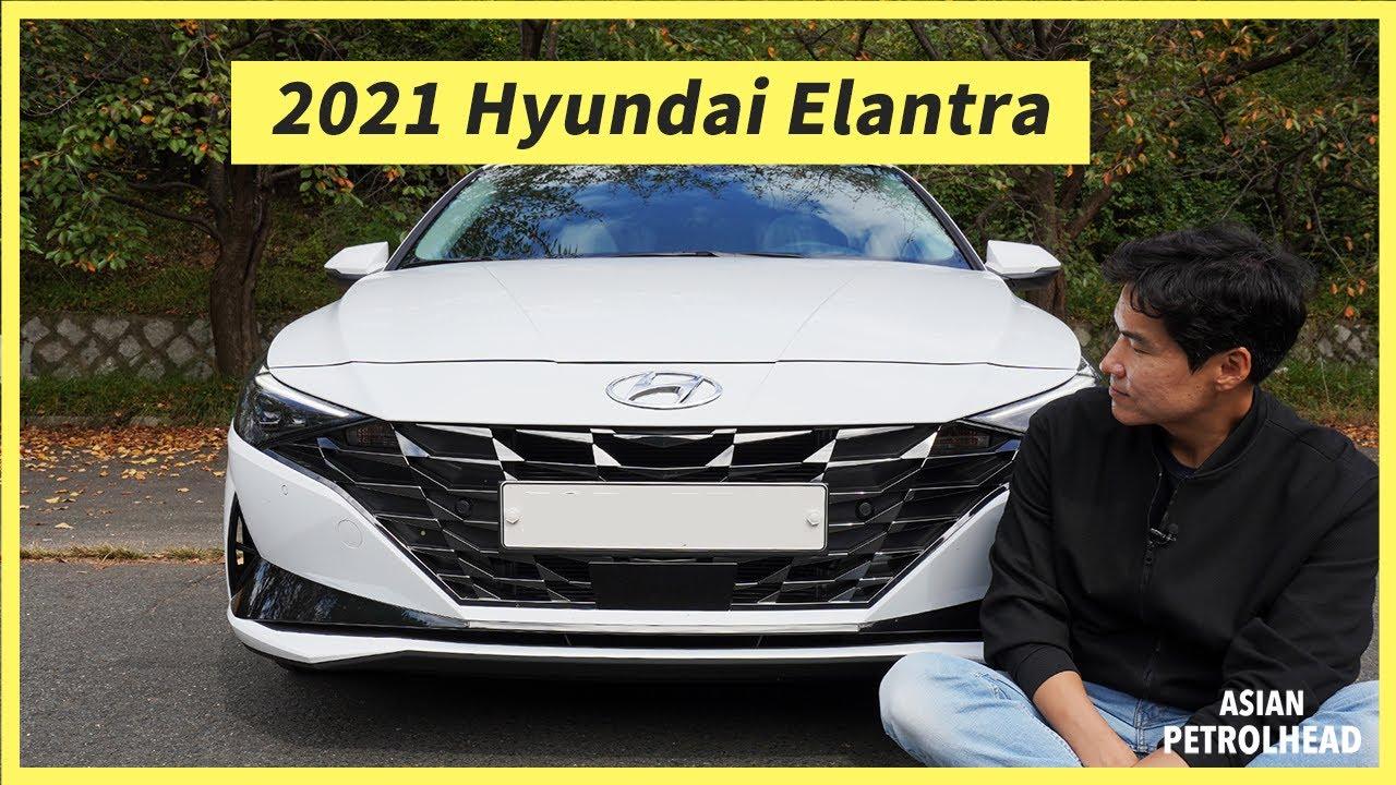 2021 Hyundai Elantra – Could the Hybrid model be more fun to drive? Let's drive 2021 Hyundai Elantra
