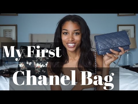MY FIRST CHANEL BAG! | Chanel Wallet on Chain Unboxing | KWSHOPS