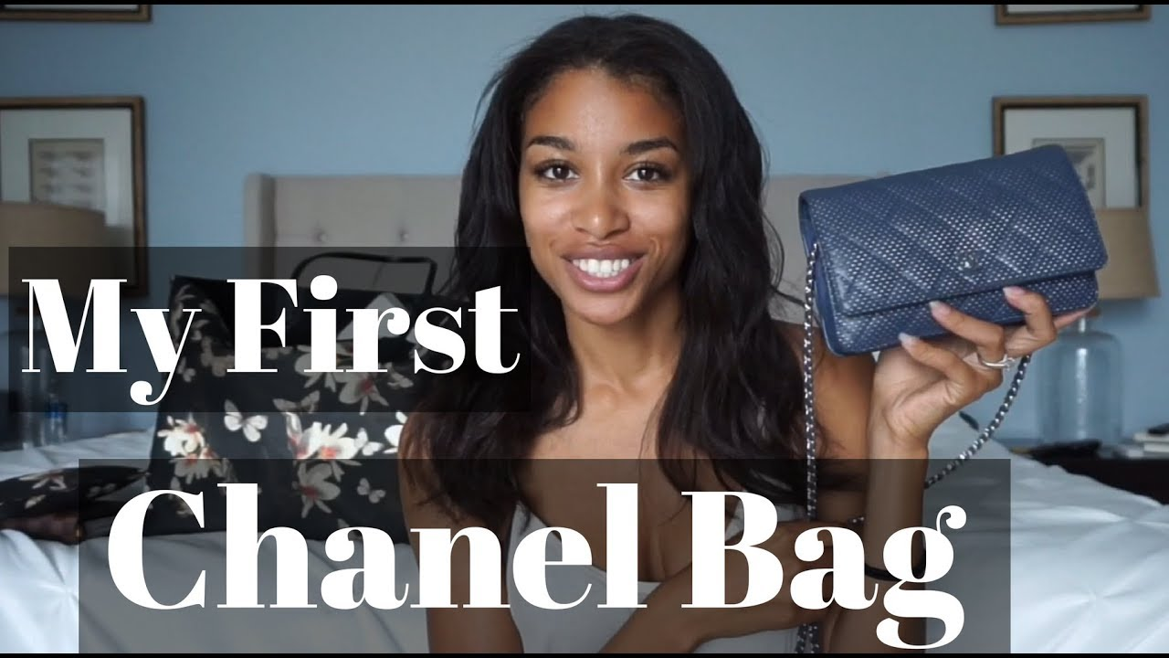 dc18880c3f8b MY FIRST CHANEL BAG! | Chanel Wallet on Chain Unboxing | KWSHOPS ...