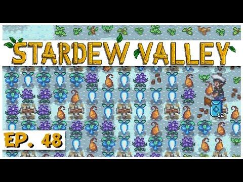 Stardew Valley - Ep. 48 - Huge Winter Farming Harvest! - Let's Play Stardew Valley Gameplay