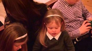Mary og Frederik med børnene til julekoncert 2