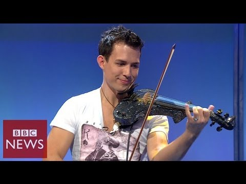 Fastest violinist in the world  BBC News