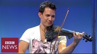 Fastest violinist in the world - BBC News