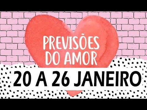 HOROSCOPO SEMANAL AMOR | 20 A 26 JANEIRO Horóscopo Do Amor