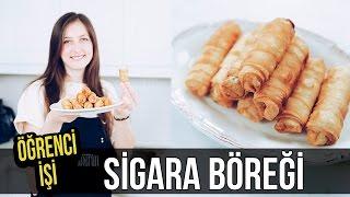 Öğrenci İşi: SİGARA BÖREĞİ nasıl yapılır? | Merlin Mutfakta Yemek Tarifleri