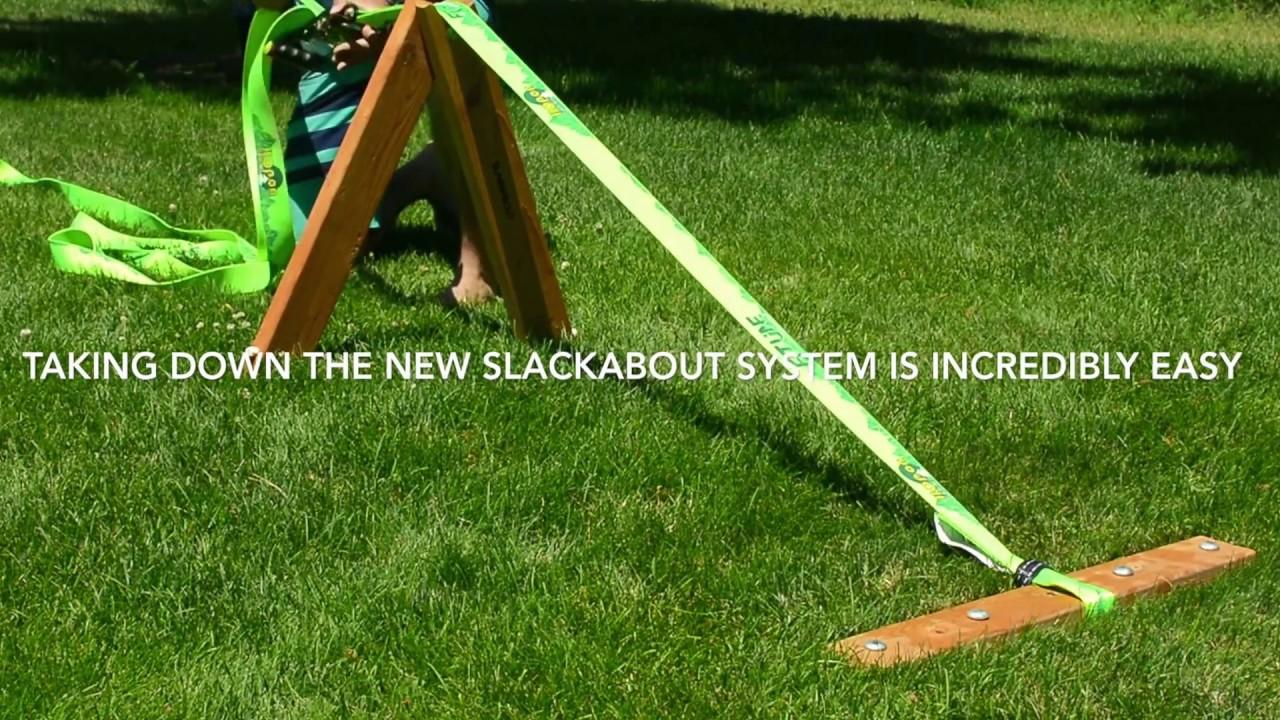 Slackabout - Portable Slackline Stands & Anchors Kit