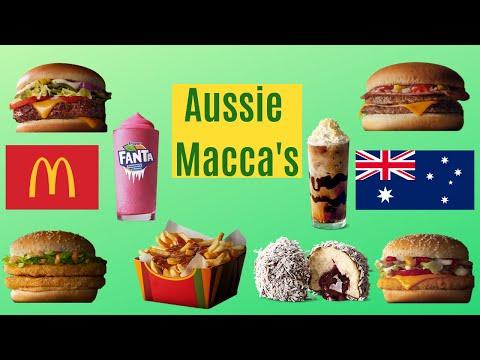 Australian McDonald's (Macca's) Unique Menu Items!
