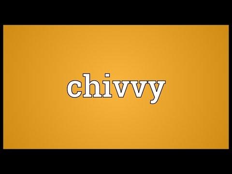 Header of chivvy
