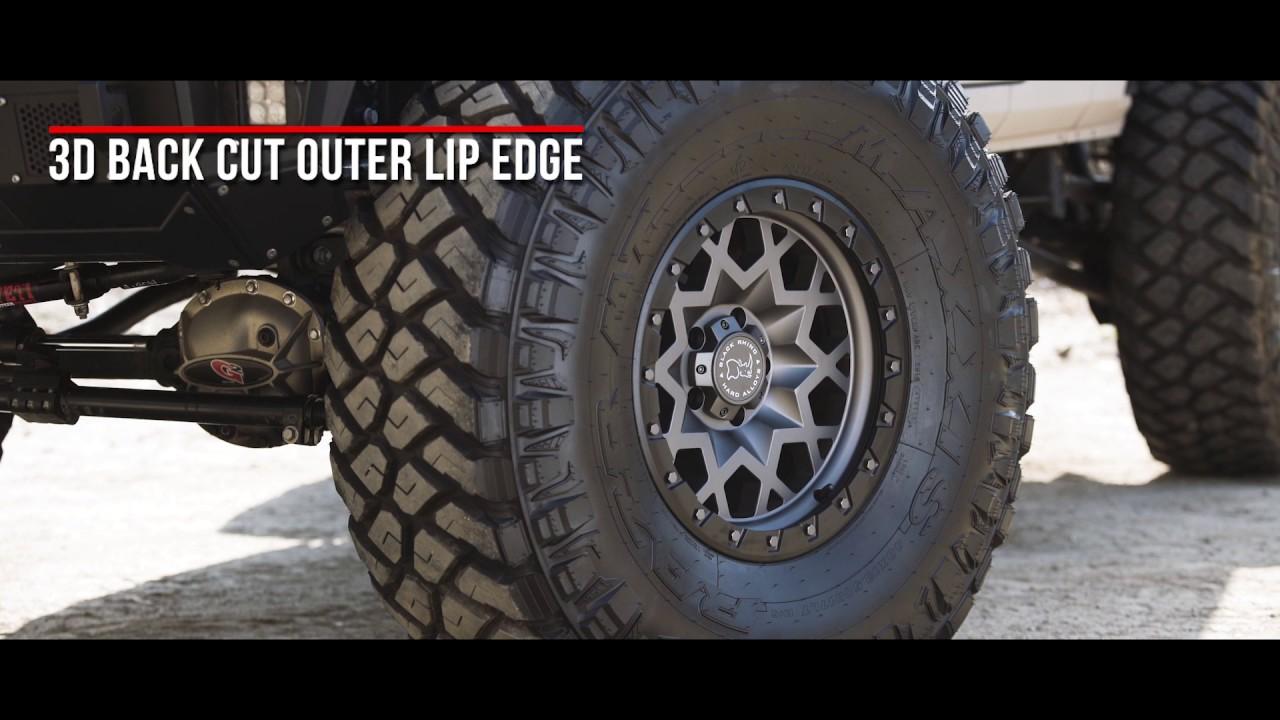 Black Rhino Truck Wheels- the Sprocket in Matte Gunmetal W ...