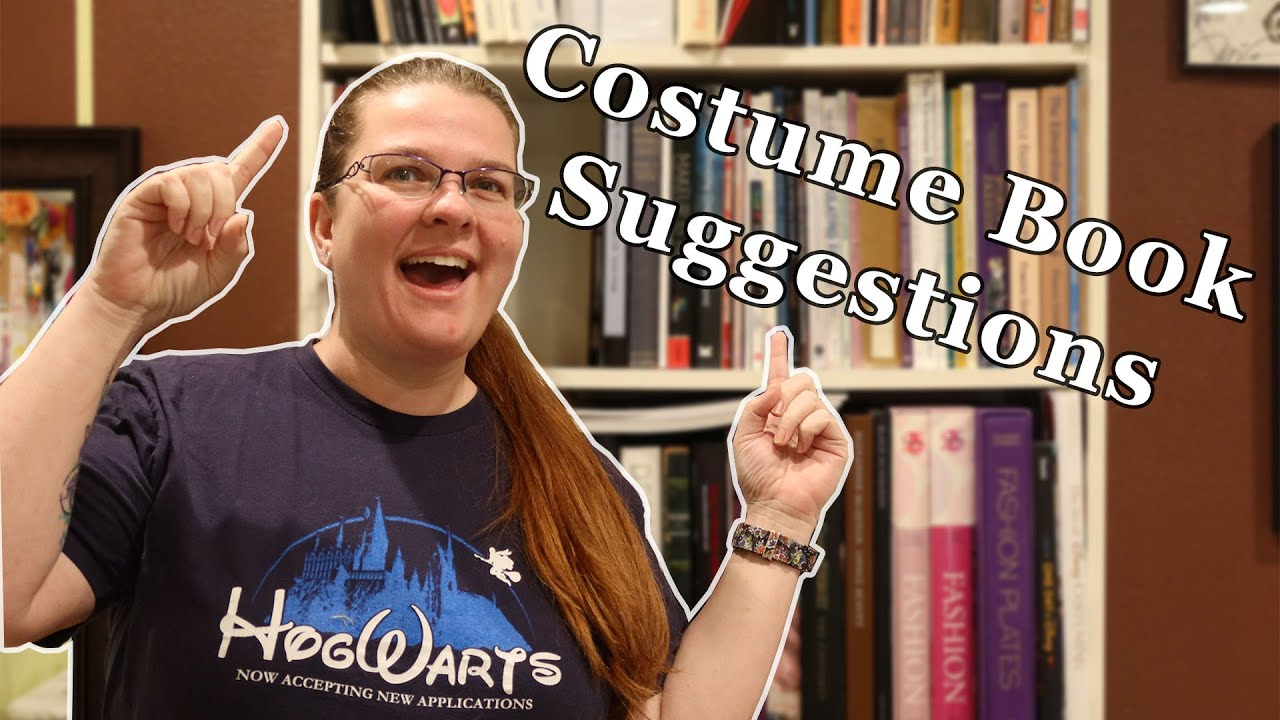 Costuming Bookshelf Tour with a Side of Rant    Beginner and Intermediate Book Recommendations