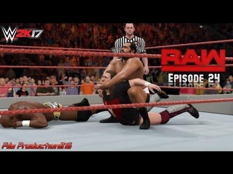 WWE 2K17 Monday Night Raw Story Mode Episode 24