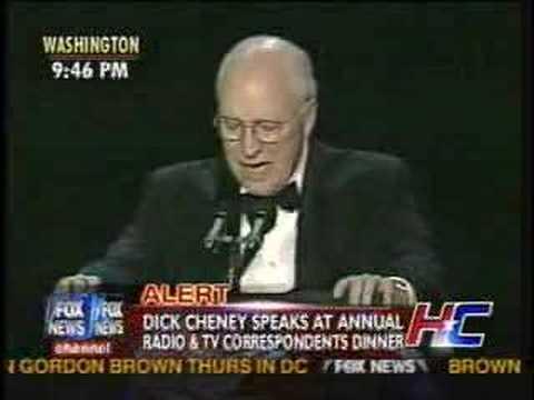 DICK CHENEY COMEDY SPEECH RADIO & TV DINNER PART 2
