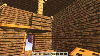 How to make a Ceiling Fan - Minecraft Furniture Idea #16 HD