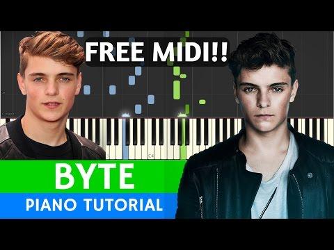 Martin Garrix & Brooks - BYTE - PIANO