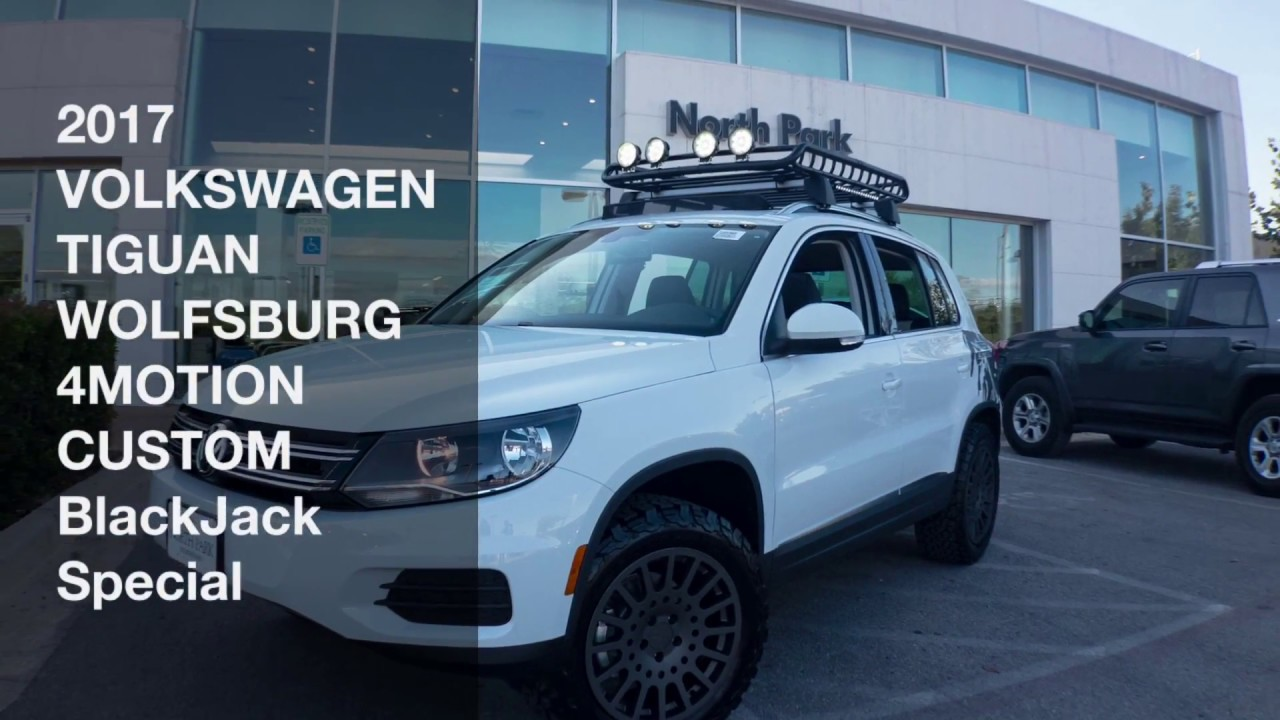 North Park Vw >> New Custom by BlackJack 2017 VOLKSWAGEN TIGUAN 2.0T WOLFSBURG EDITION 4MOTION - YouTube
