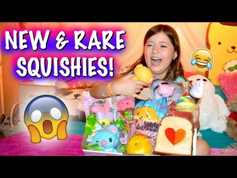 KINDA CRAZY SQUISHY PACKAGE OPENING/VLOG! RARE SQUISHY! OMG!