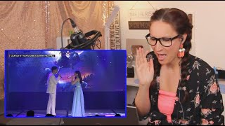 Vocal Coach Reacts to Morissette Amon and Darren Espanto perform A Whole New World MP3