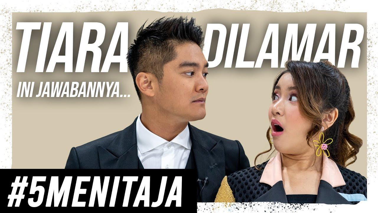 TIARA ANDINI DILAMAR BEGINI JAWABAN-NYA! | #5MENITAJA