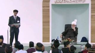 Gulshan-e-Waqfe Nau (Atfal & Khuddam) Class: 28th September 2011 (Urdu)