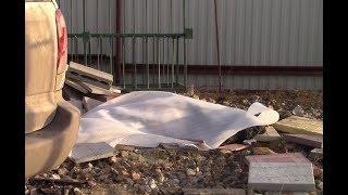 видео с места гибели ветерана боевых действий