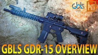 GBLS DAS GDR15 THE MOST REALISTIC AIRSOFT RIFLE - OVERVIEW - SPARTAN117GW
