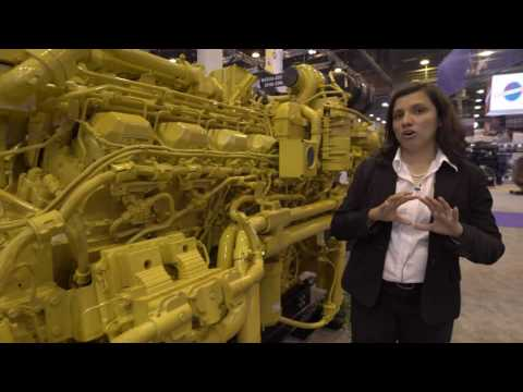 Product Walkaround: The 3512E Tier 4 Final Land Electric Drive Drilling Module