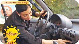 Autowaschen - aber richtig! | SAT.1 Frühstücksfernsehen